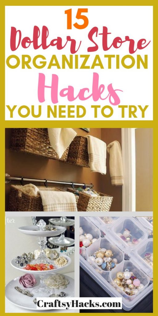 15 dollar store organization hacks you need to try
