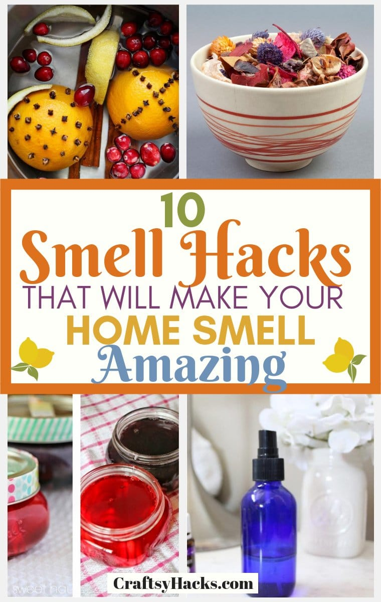 smell Hacks to Make Your House Smell Amazing