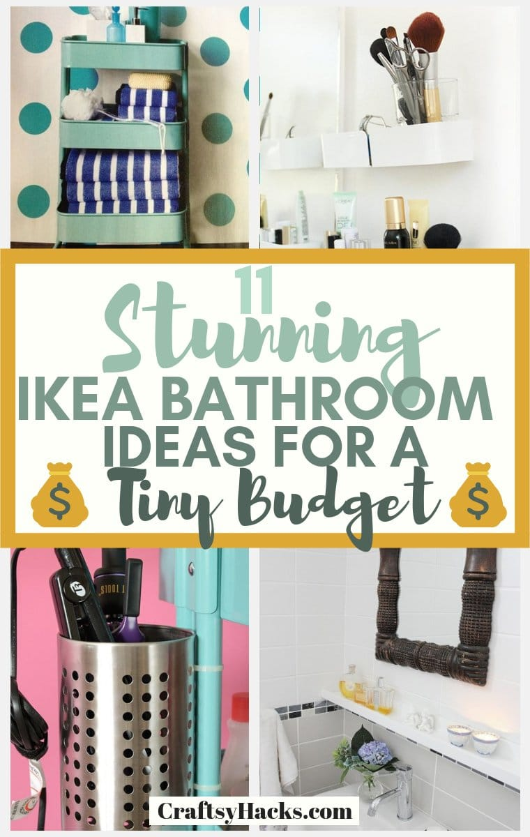 Stunning Ikea Bathroom Ideas for a Tiny Budget