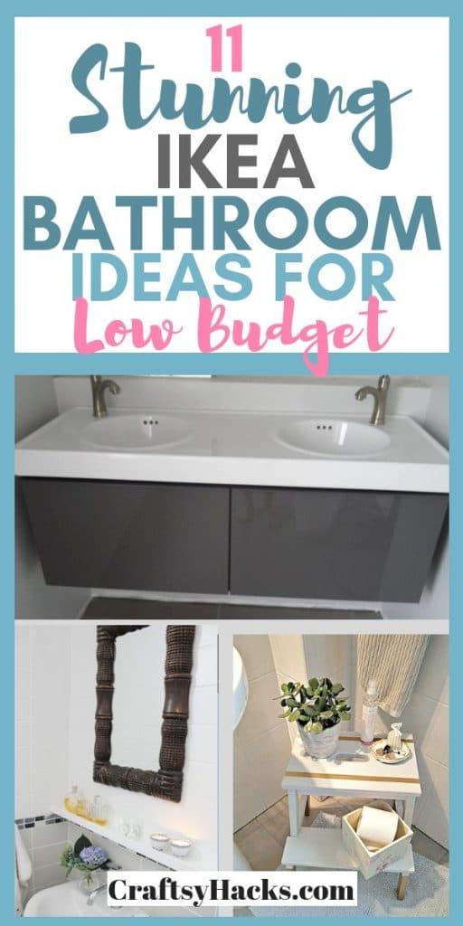 11 stunning ikea bathroom ideas for low budget