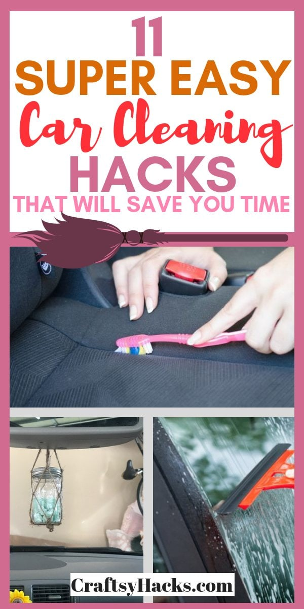 11 super easy car cleaning hacks that will save you time