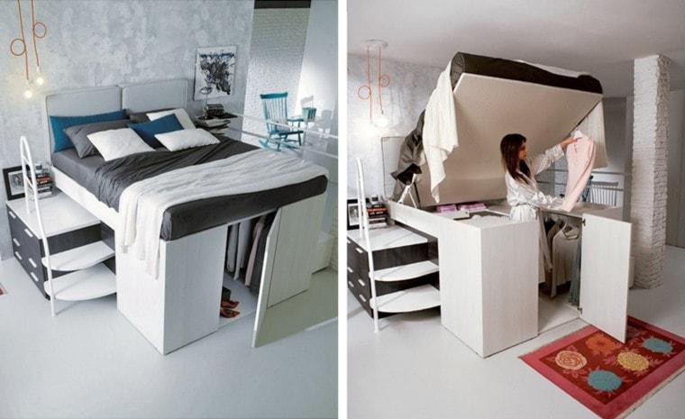 closet under bed storage