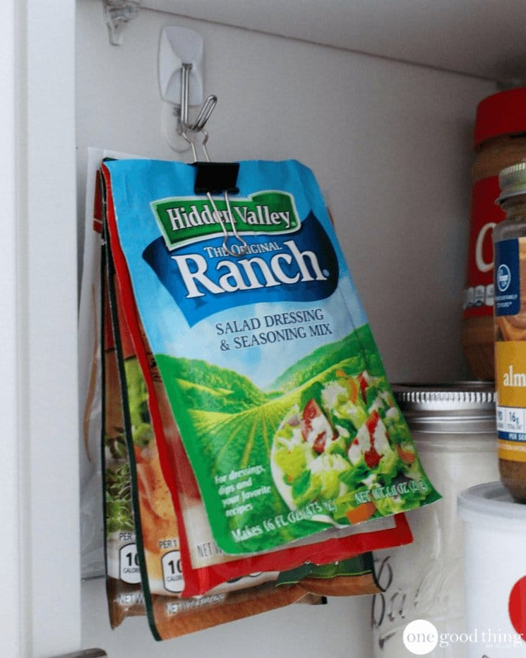 Store Packets in Your Pantry