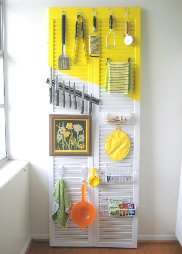 DIY Door Organizer