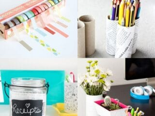 15 Desk Organization and Productivity Hacks