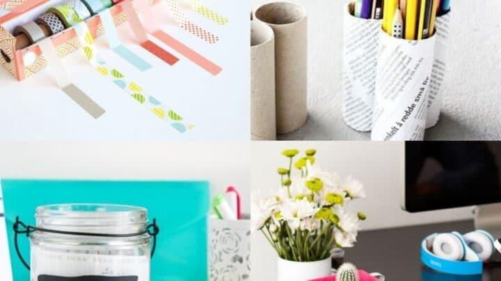 15 Desk Organization and Productivity Hacks