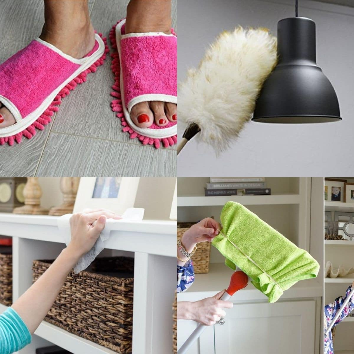 8 Easy Dusting Hacks That Will Keep Your Home Clean   Craftsy Hacks