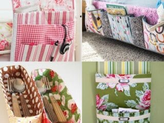 15 Sewing Projects to Help Organize and Declutter