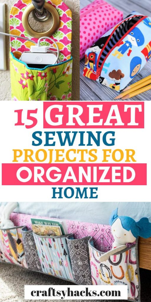 15 great sewing projects for organized home