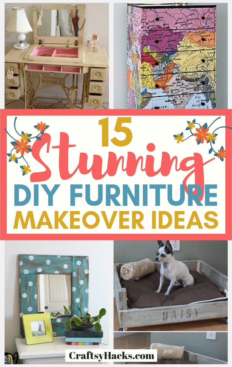 stunning diy furniture makeover ideas