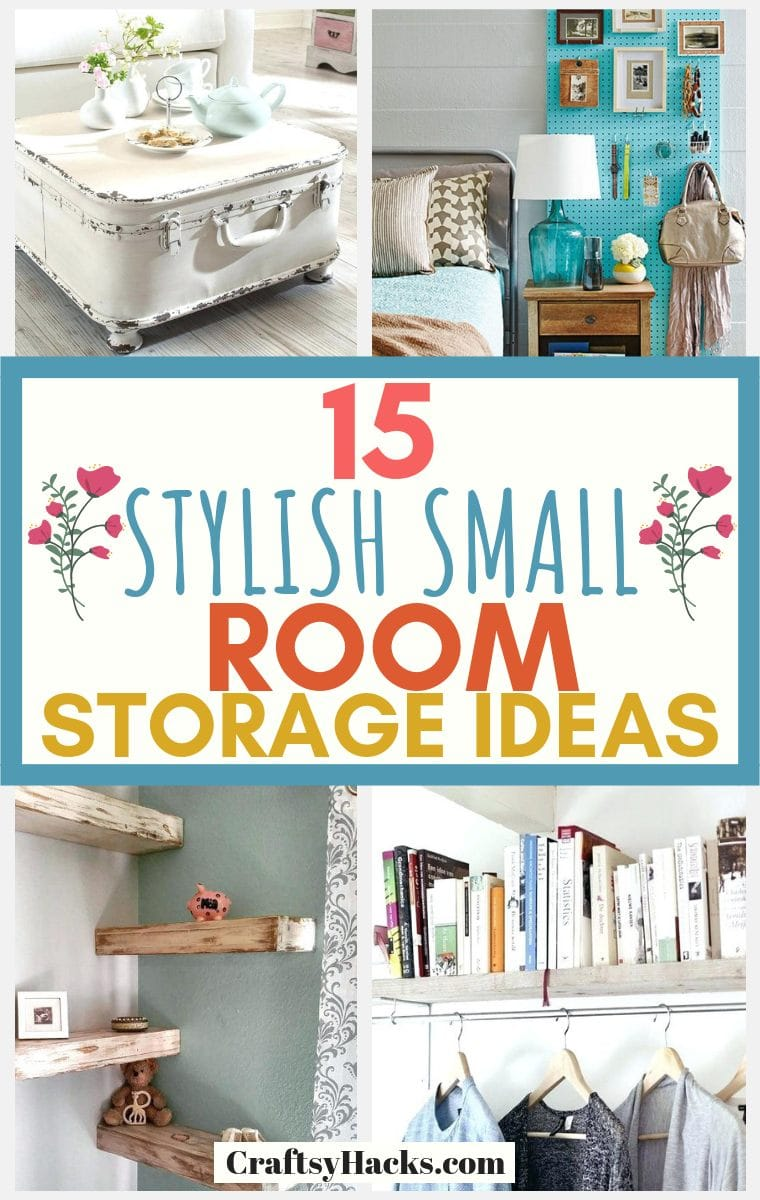small room storage hacks