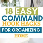 18 easy command hook hacks for organizing home