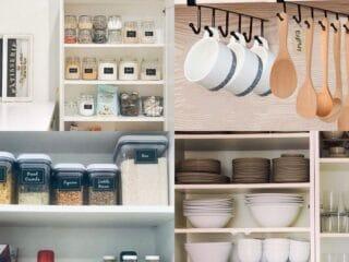 20 Ways to Organize Kitchen Cabinets