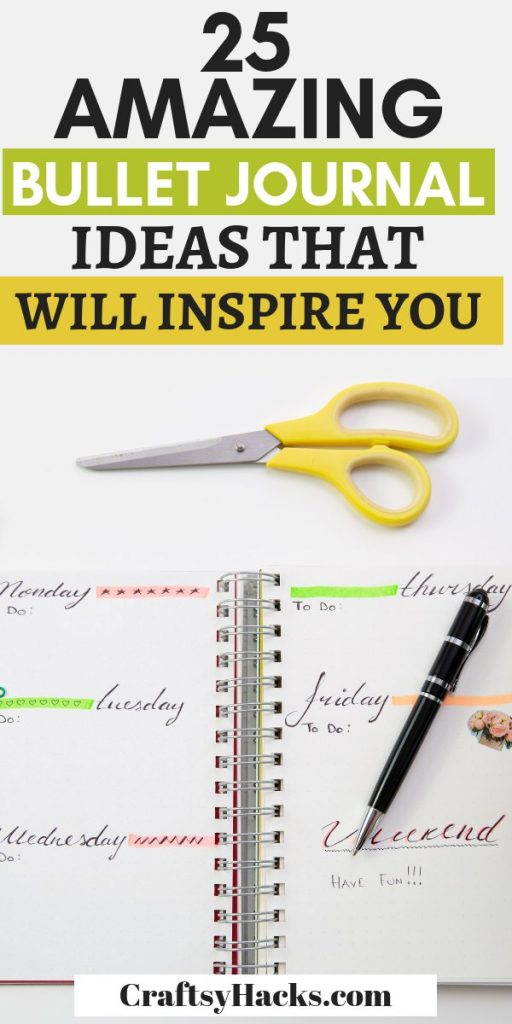 25 amazing bullet journal ideas that will inspire you