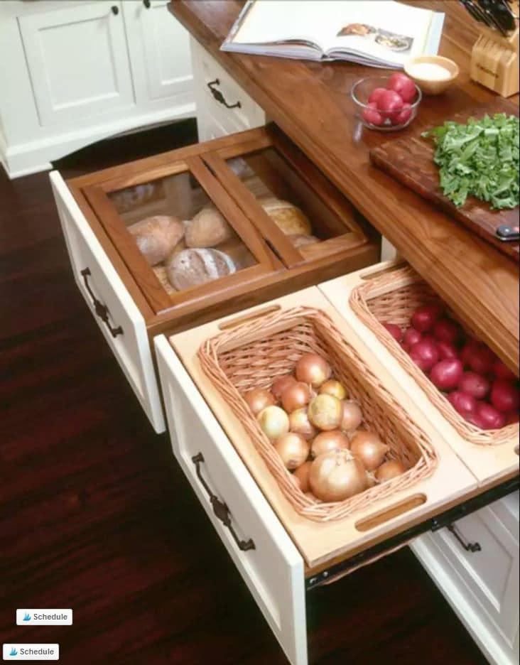 DIY Vegetable Friendly Drawers