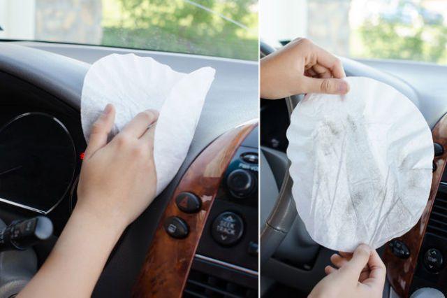 Dust Your Car Dashboard