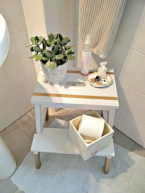 Step Stool Organizer