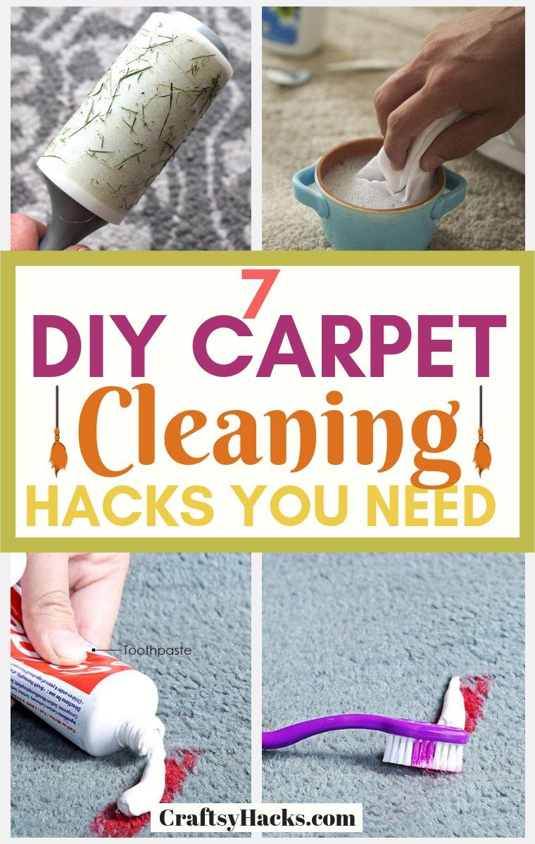 DIY Carpet Cleaning Hacks