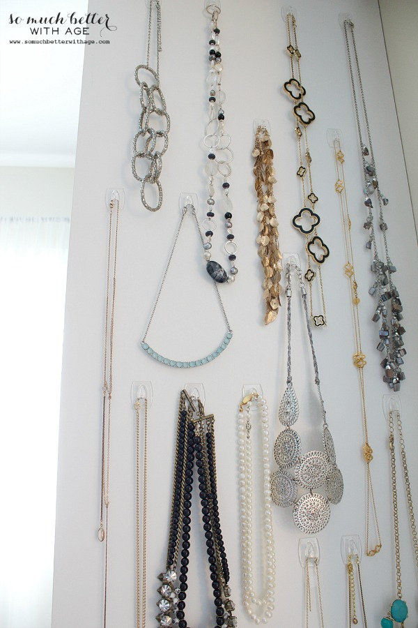 Organize Your Necklaces