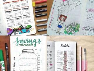 15 Habit Tracker Ideas for Bullet Journals