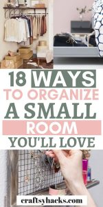 small room organization