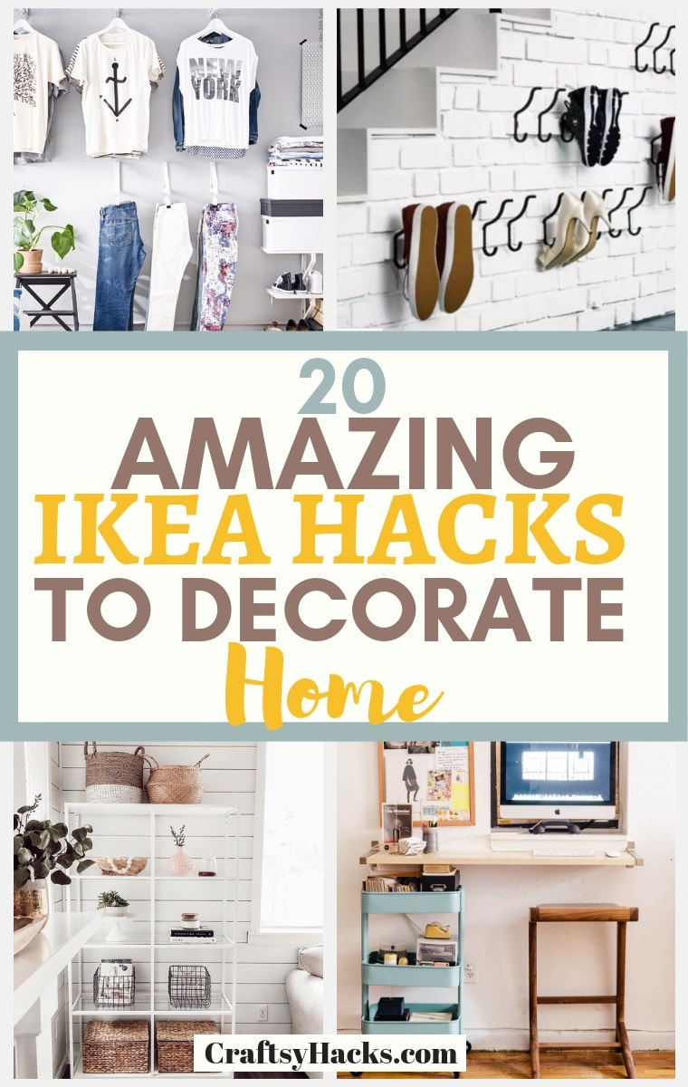 20 Amazing Ikea Hacks to Decorate on a Lower Budget