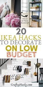20 ikea hacks to decorate on low budget