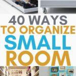 organize small bedroom