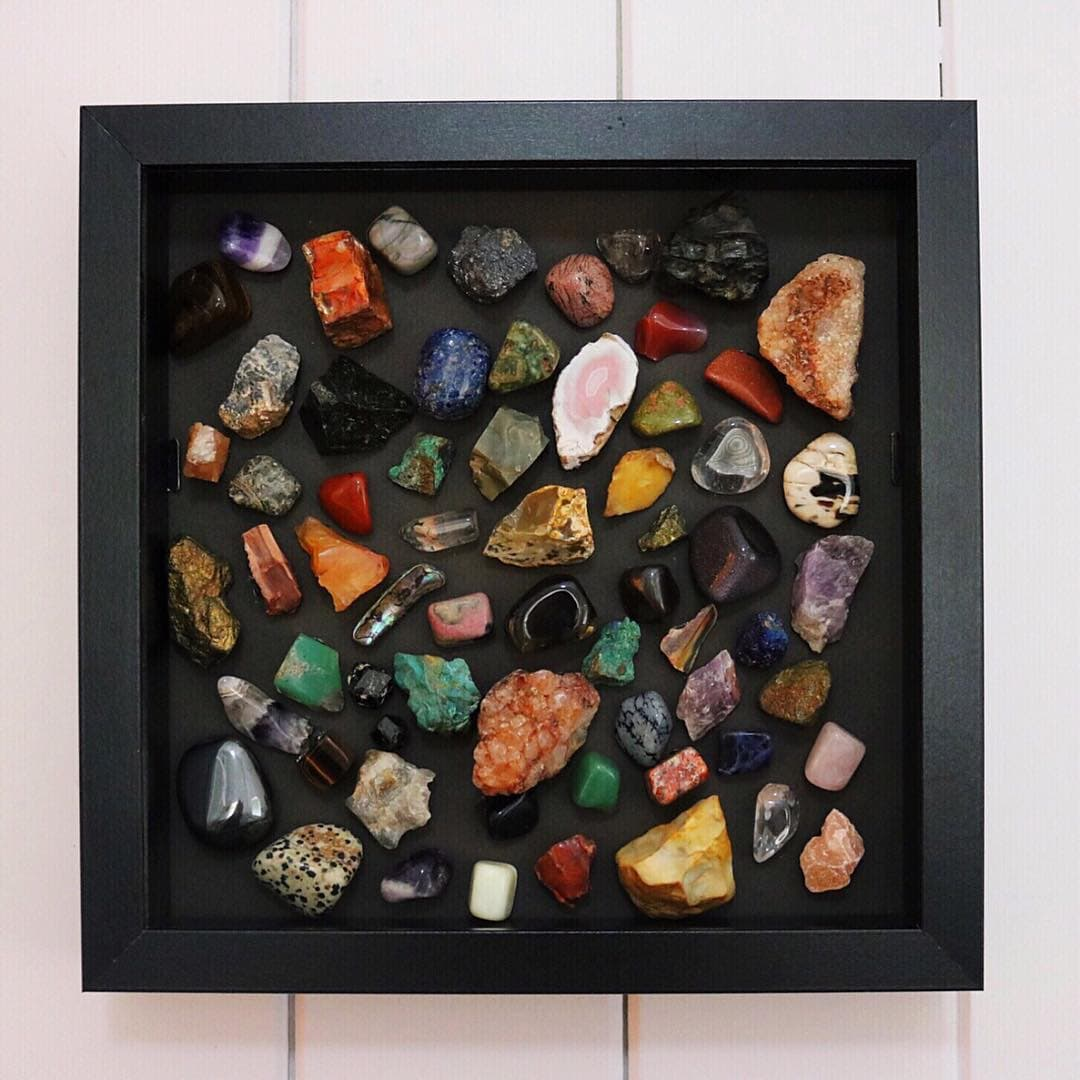 Framed Rocks and Minerals