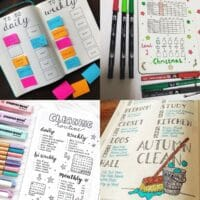House Cleaning Schedule_ 20 Bullet Journal Ideas