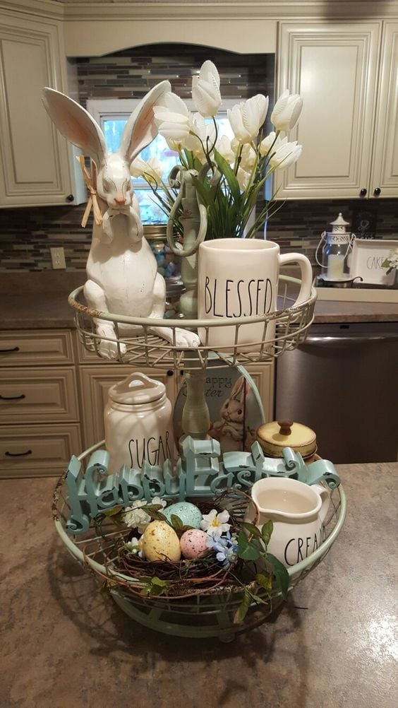 Fruit Stand Easter Decoration