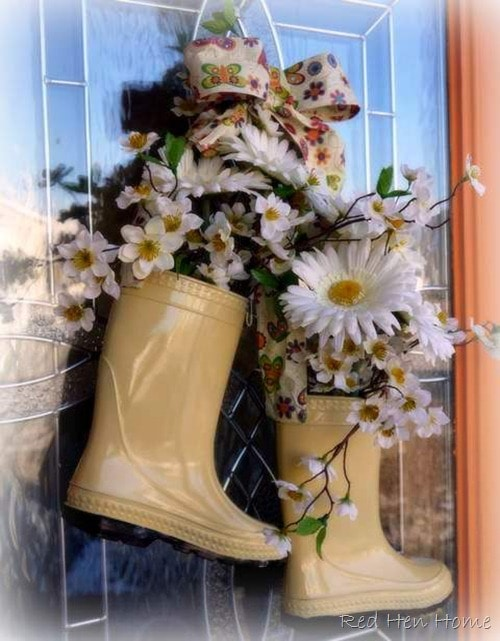 Boots Wreath