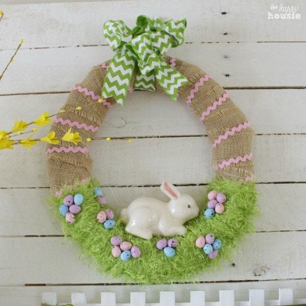 Grass Spring Wreath