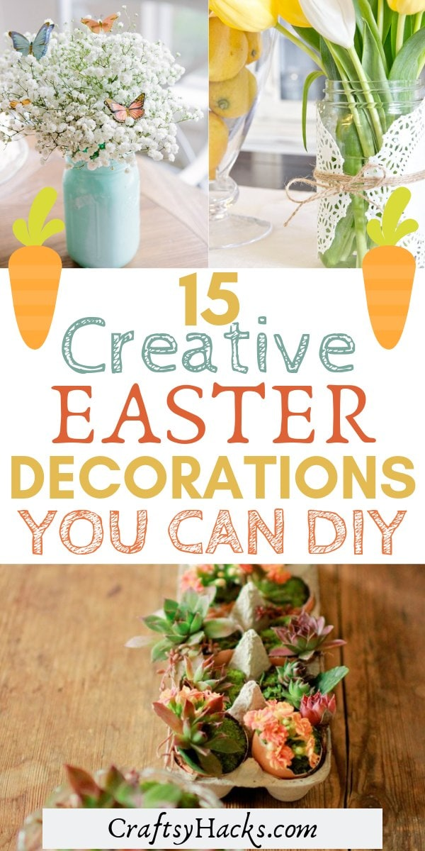 15 creative easter decorations you can diy