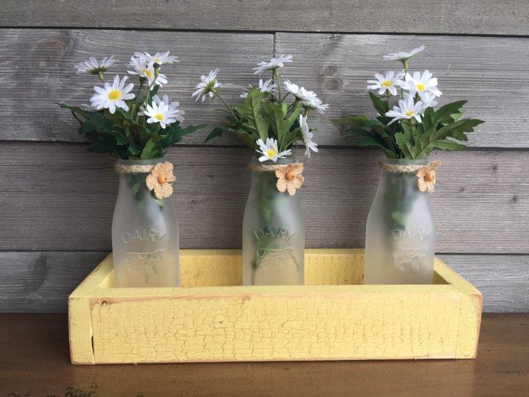 Milk Bottles in a Box