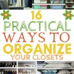 16 practical ways to organize your closets