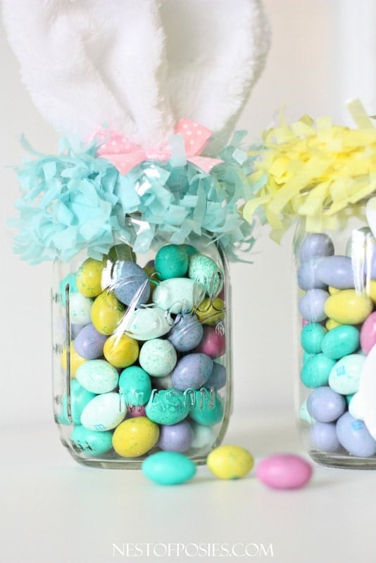 Mason Jar Basket