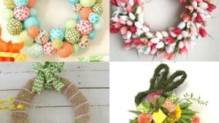 20 DIY Easter Wreath Ideas to Decorate Home