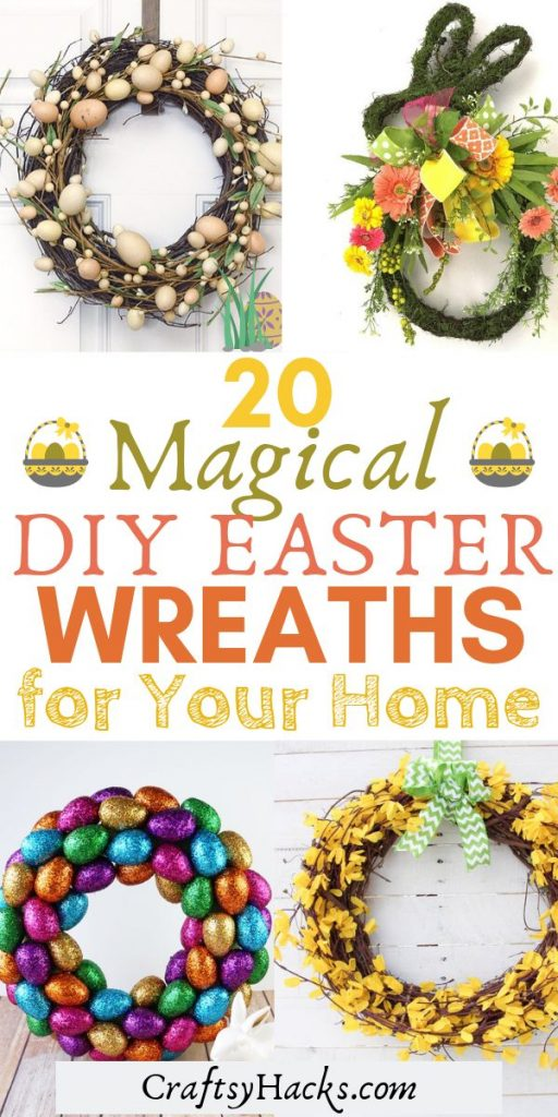 20 magical diy easter wreaths for your home