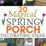 20 magical spring porch decorating ideas