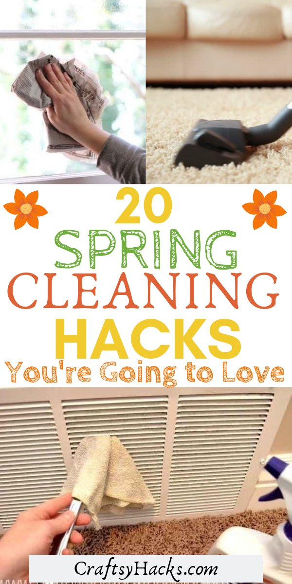 20 spring cleaning hacks youre gonna love