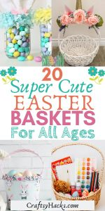 20 super cute easter basket ideas
