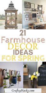 21 farmhouse decor ideas for spring