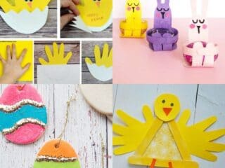 25 Easter Crafts for Kids to Have Fun