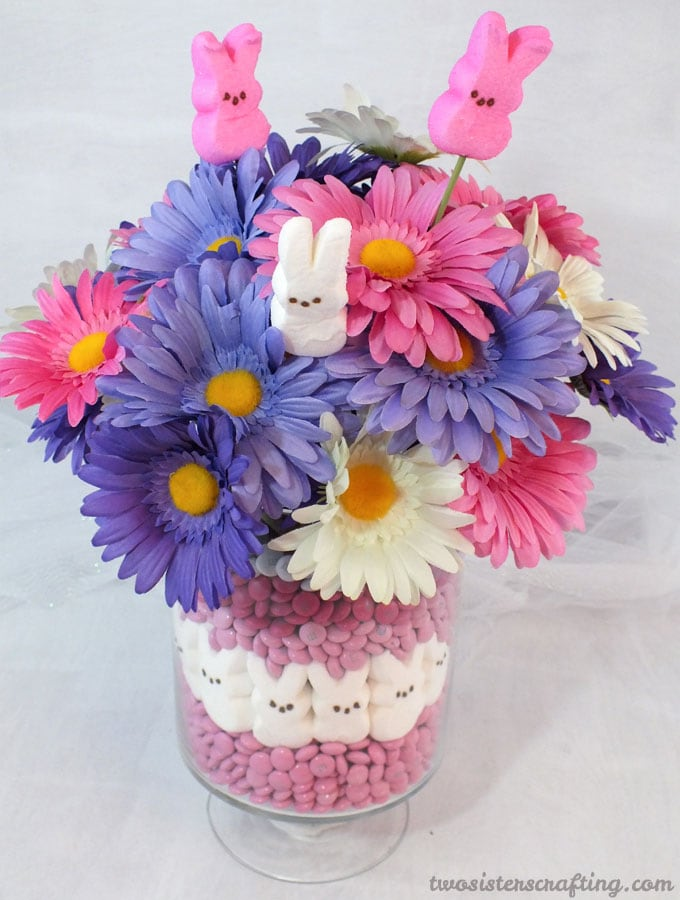 Colorful Easter Centerpiece