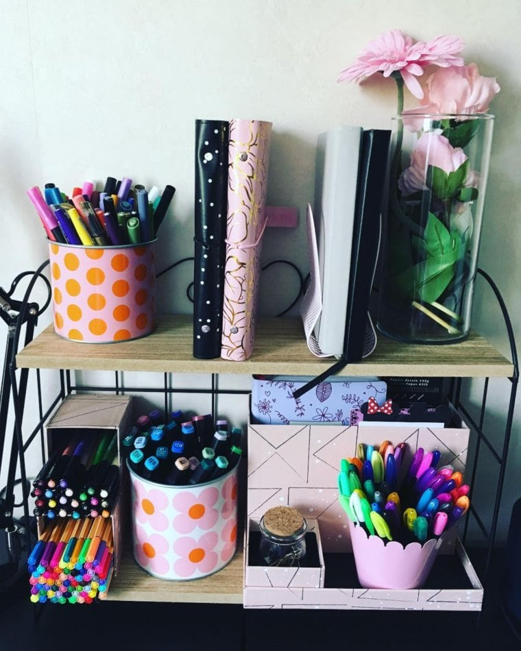 Colorful Pencil Holders