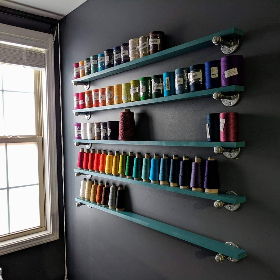 DIY Yarn Organizer