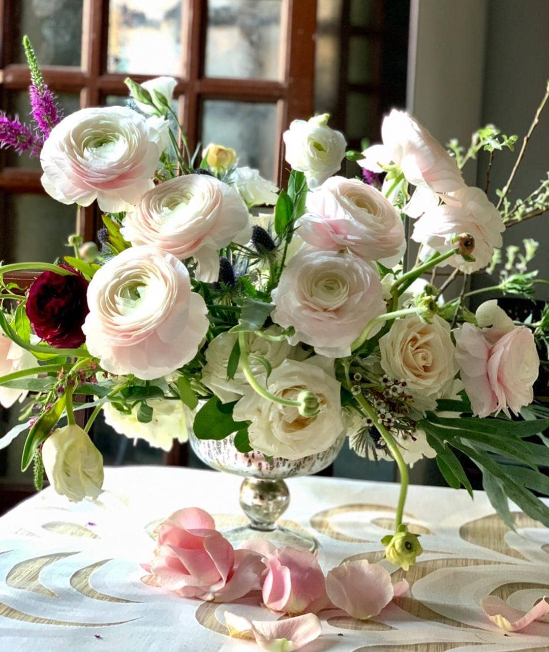Floral Rose Centerpiece