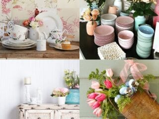 20 Shabby Chic Kitchen Décor Ideas
