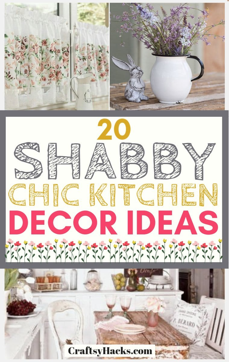 Shabby Chic Kitchen Décor Ideas